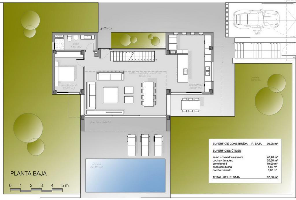Novy sovremenny dom v Benidorme s vidom na more - N3090 - vikmar-realty.ru