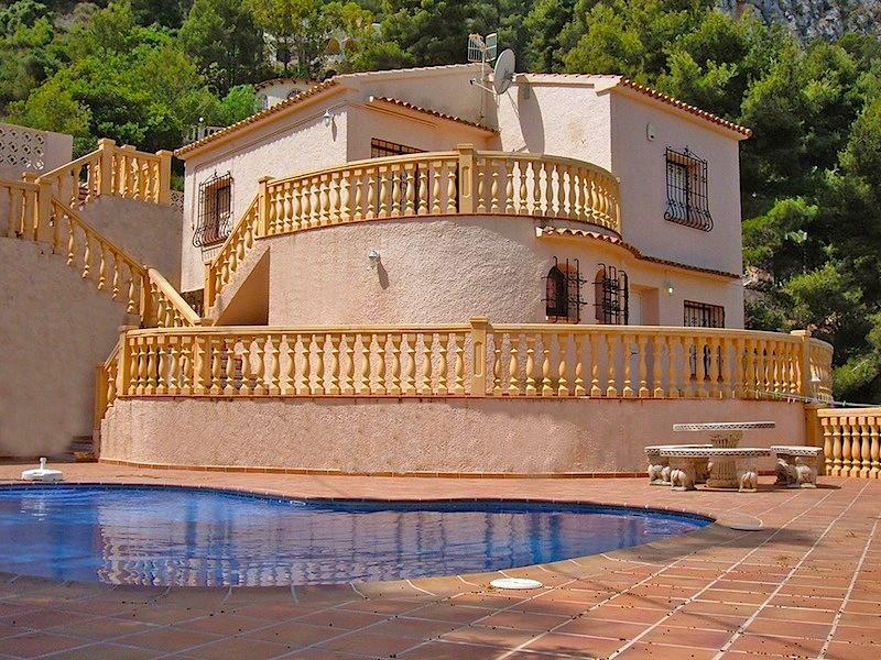 Villa v Kalpe na sklone gory s krasivym vidom - N3140 - vikmar-realty.ru