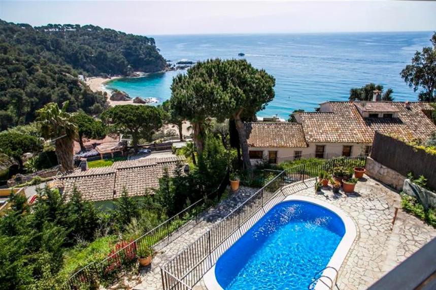 Villa v Lloret de Mar u morya s velikolepnym vidom na more - N3410 - vikmar-realty.ru