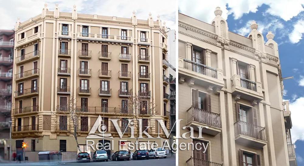 Novyye kvartiry v zhilom osobnyake na ulitse de San Antoni Mariya Klaret v Barselone - N1452 - vikmar-realty.ru
