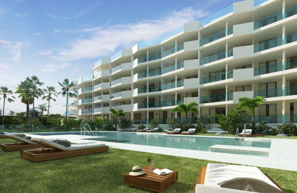 Apartamenty v prestizhnom komplekse Jardines de las Lagunas v Fuenkhirole - N1842 - vikmar-realty.ru