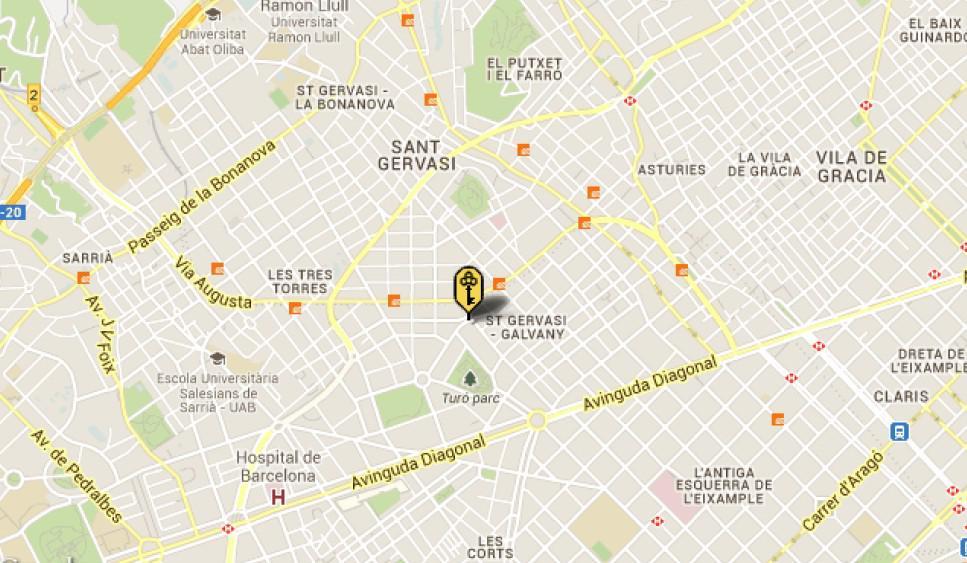 Pentkhaus v Barselone v prestizhnom rayone Sant Gervasi okolo parka - N2302 - vikmar-realty.ru