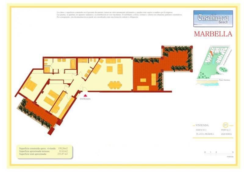 Apartamenty na poberezhye v feshenebelnom komplekse Casablanca Beach - N2572 - vikmar-realty.ru