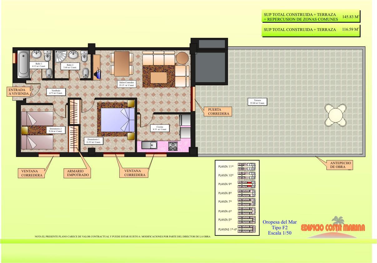 Novyye apartamenty v Ispanii v Marina Dor u morya - N2793 - vikmar-realty.ru