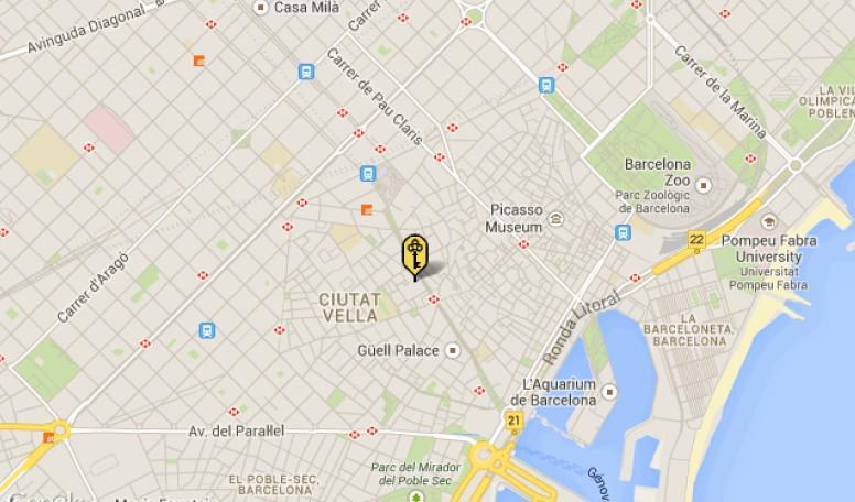 Otel v tsentre Barselony v 2 minutakh ot Ploshchadi Katalonii - N3303 - vikmar-realty.ru