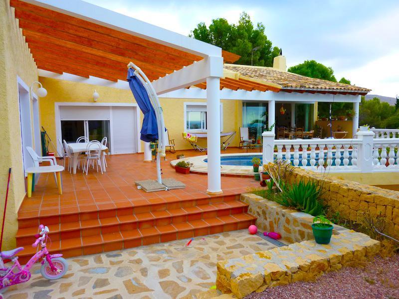 Villa v Alteye v ochen prestizhnom komplekse Altea Hills - N3064 - vikmar-realty.ru