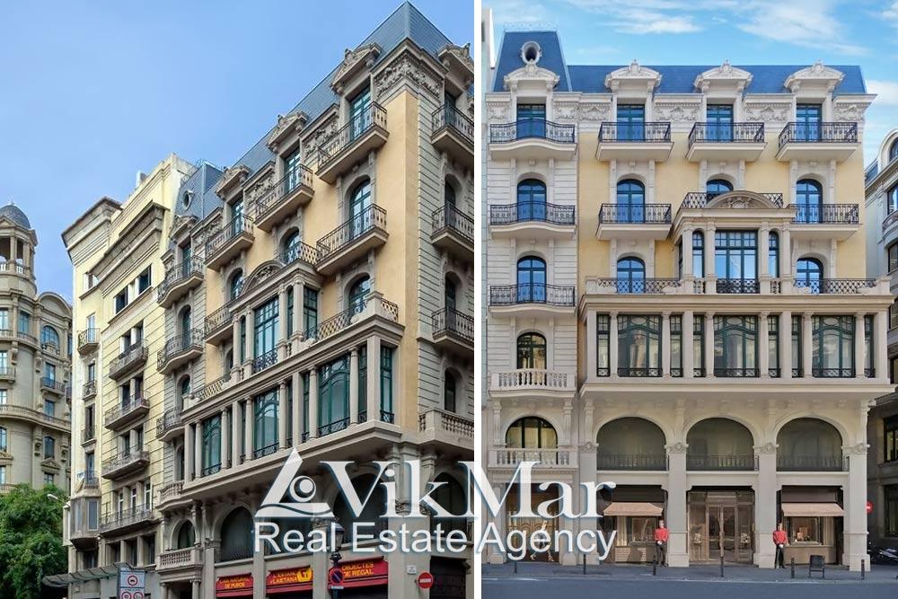 16 elitnykh kvartir v tsentre Barselone v otrestavrirovannom osobnyake u morya - N3214 - vikmar-realty.ru