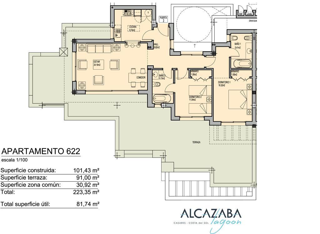 Apartamenty v feshenebelnom komplekse Alcazaba Lagoon v rayone Estepony - N1595 - vikmar-realty.ru