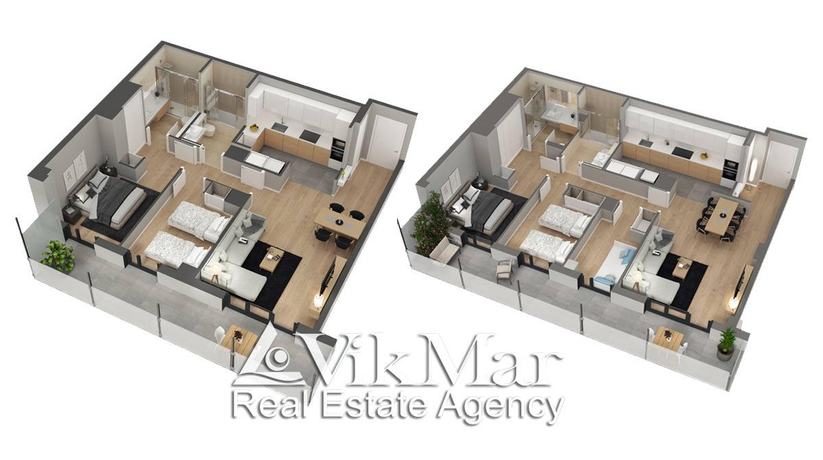 Kvartiry v novom zhilom dome na ulitse Carrer d'Àlaba - N3325 - vikmar-realty.ru