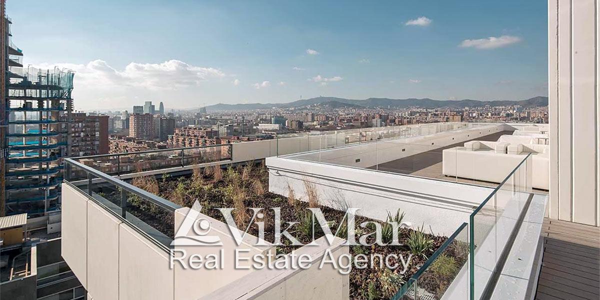 Kvartiry v komplekse novostroyke Diagonal Port na beregu morya v Barselone - N2266 - vikmar-realty.ru