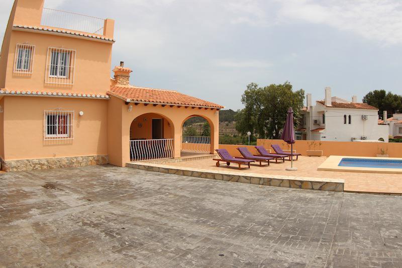 Villa v Kalpe s basseynom i vidom na mys Ifach - N3136 - vikmar-realty.ru