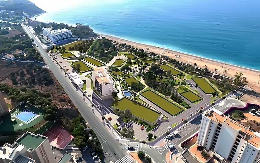 Недвижимость на первой линии моря в испании