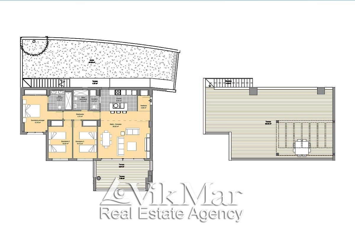 Kvartiry na prodazhu v komplekse novostroyke Alborada Homes v Benakhavise - N2958 - vikmar-realty.ru