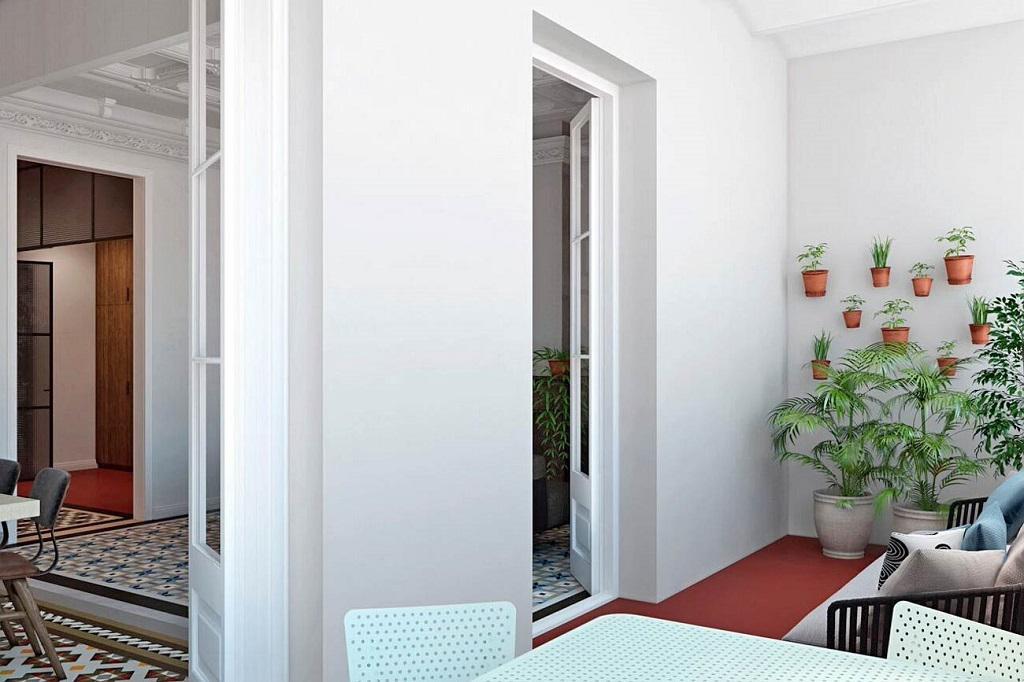 Elitnaya kvartira v tsentre Barselony v rayone Zolotogo Kvadrata Ispanskogo Moderna - N3228 - vikmar-realty.ru