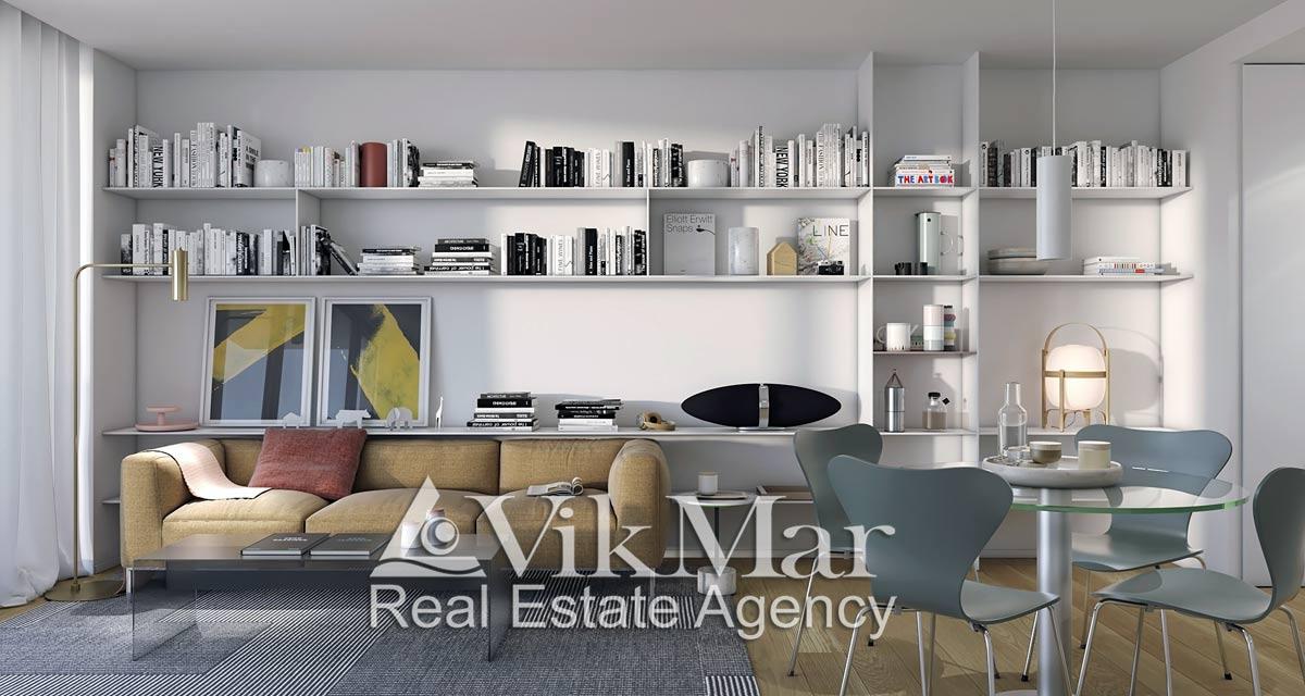 Kvartiry v novom komplekse UNIQ Residential Numancia v rayone Les Korts - N1459 - vikmar-realty.ru