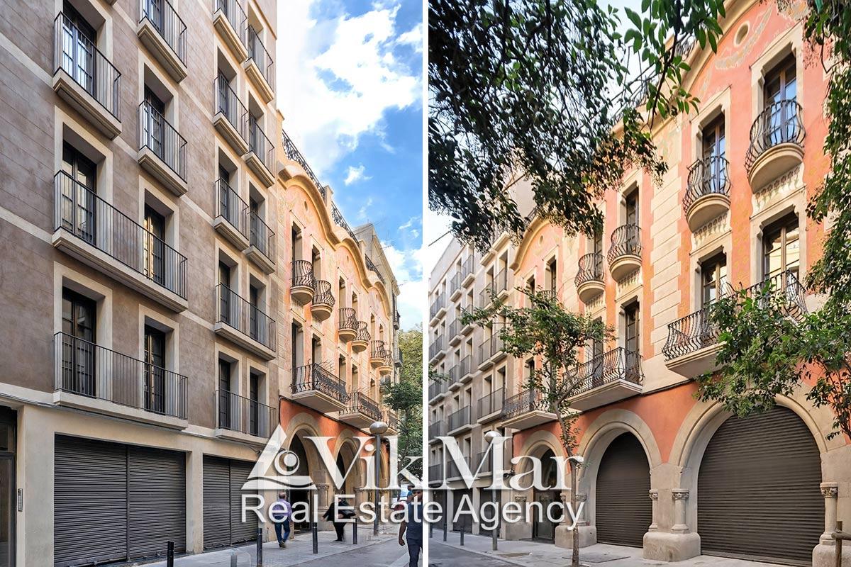 Novyye kvartiry na prodazhu v tsentre Barselony v rayone El Raval (El Raval) - N1969 - vikmar-realty.ru
