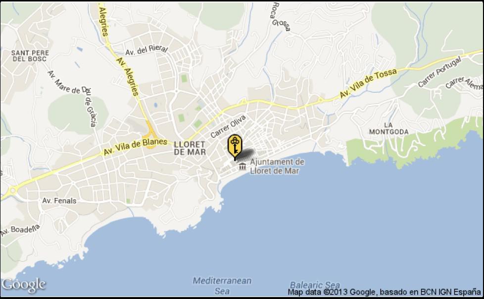 Kvartira v Lloret de Mar na poberezhye Kosta Brava okolo morya - N2309 - vikmar-realty.ru