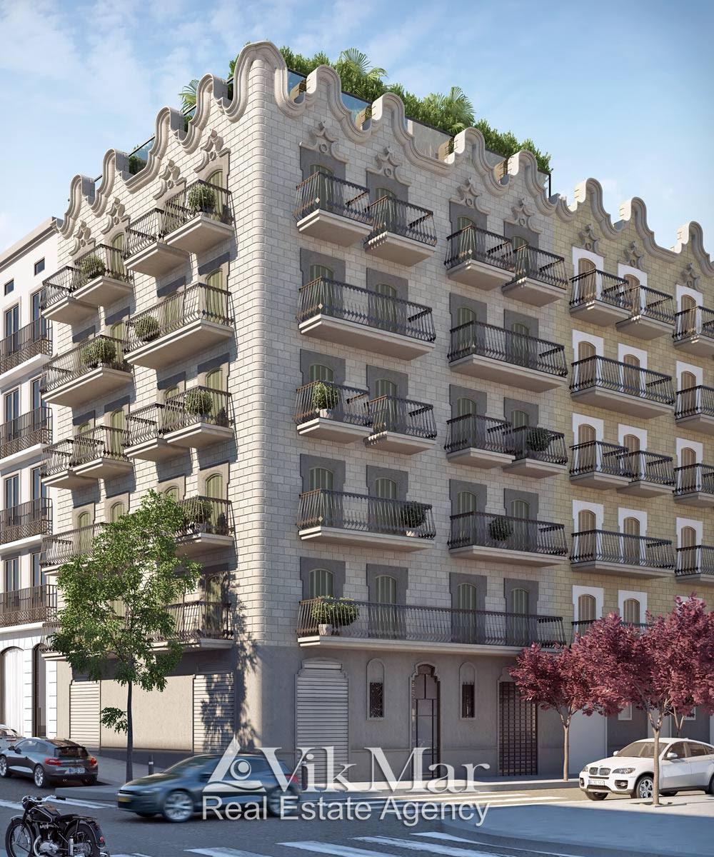 Novyye kvartiry v Barselone ot zastroyshchika na ulitse d'Elkano - N2399 - vikmar-realty.ru