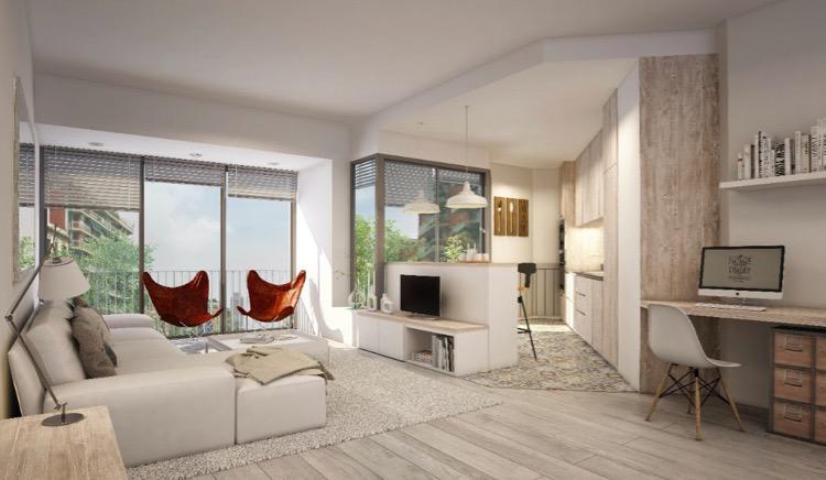 Novyye apartamenty v Barselone v uyutnom, komfortabelnom rayone - N3579 - vikmar-realty.ru