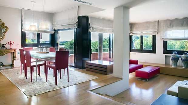 Интерьер апартаментов в Барселоне в престижном районе Педральбес