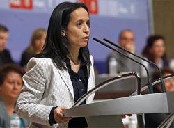 Госсекретарь Испании по вопросам недвижимости и городского хозяйства Беатрис Корредор (Beatriz Corredor)