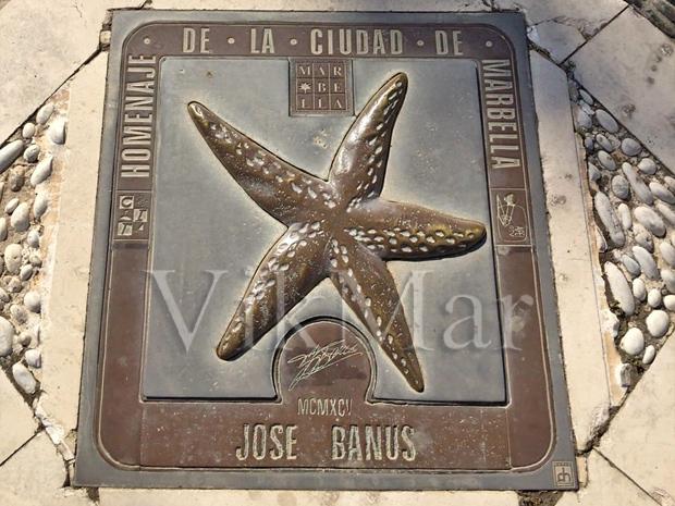 Почетная звезда Хосе Бануса