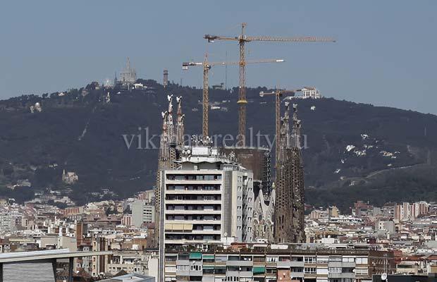 Строительные краны в Барселоне - индикатор рынка недвижимости в Испании