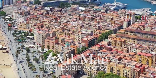 Жилая застройка района Ла-Барселонета