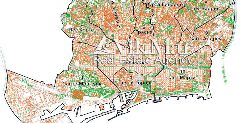 Административное территориальное деление Барселоны, градостроительные инновации, рейтинг глобальной конкурентоспособности