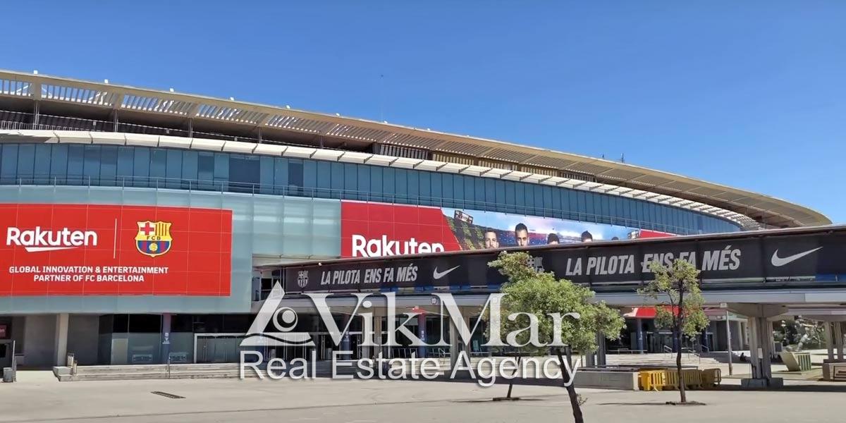 Фото спортивной арены Camp Nou
