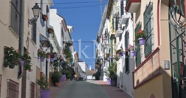Жилая застройка в Эстепоне в старой исторической части города