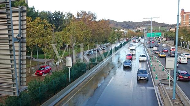 Автомагистраль Ронда-де-Дальт в Барселоне