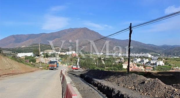 Cтроительные работы в пригороде Эстепоны