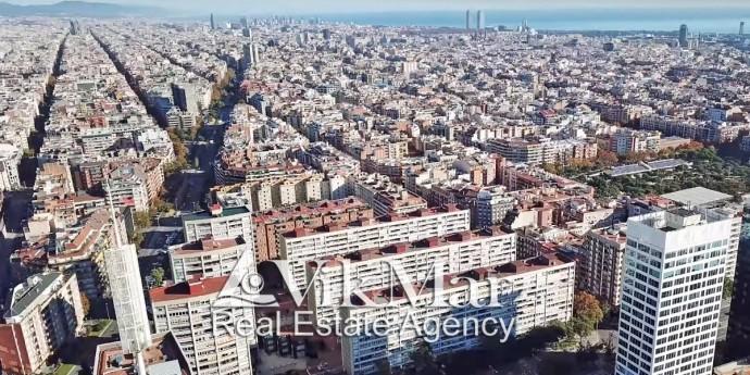 Жилые дома в Барселоне в районе Нова Эскерра дель Эшампле